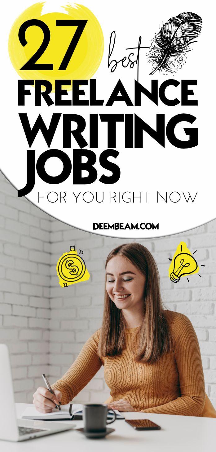 27 high paying freelance writing jobs
