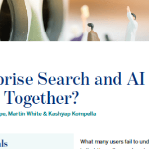 Enterprise Search and AI – Better Together?