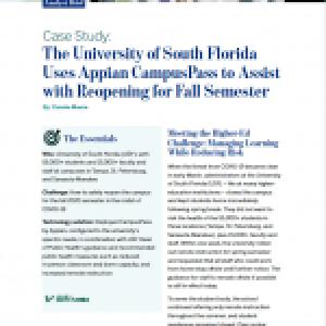 Case Study: University of South Florida