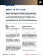 splunk for blockchain