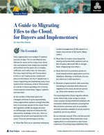 A Guide to Migrating Files to the Cloud, for Buyers and Implementers | Deep Analysis