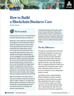 How to Build a Blockchain Business Case | Deep Analysis