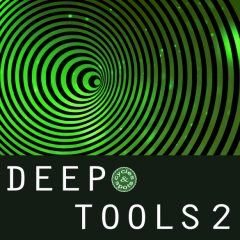 Deep Tools 2 <br><br>– 210 Loops, 250 One-Shots, 446 MB, 24 Bit Wavs.