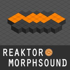Reaktor MorphSound <br><br>&#8211; 1 NI Reaktor Instrument (Full Version 6.1 &#038; Higher Needed), 100 Presets (Atmo, Bass, Chord, FX, Lead), 379 MB.