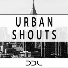 Urban Shouts <br><br>– 200 Wav Files (100 Dry + 100 Wet), 24 Bit Wavs.