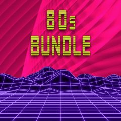 80s Bundle – 100 FM8 Presets, 350 One-Shots, 50 Construction Kits.