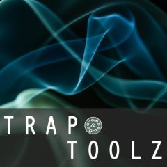 Trap Toolz <br><br>– 150 One-Shots, 163 Loops, 80 MIDI Files, 312 MB, 24 Bit Wavs.