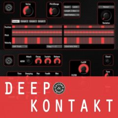 Deep Kontakt 2 <br><br>– 1 Instrument For NI Kontakt 6.2.2 (& Higher), 132 MB.