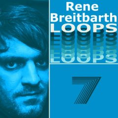 Rene Breitbarth Loops Vol.7 <br><br>&#8211; 371 Loops, 10 Themes (Bassline, Chords, Melody, Backing), 21 Beat Loops, 22 Bass Loops, 22 Rhythmic Loops, 33 Synth Loops, 63 Music Loops, 124 BPM, 1-8 Bars), 780 MB, 24 Bit Wavs.
