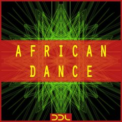 African Dance <br><br>– 10 Themes (Bass, Chord, Melody), 57 Rhythmic Element Loops (Kick, Snare, Hihat, Percussion), 37 MIDI Files, 278 MB, 24 Bit Wavs.