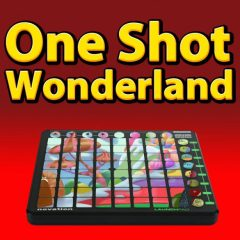 One Shot Wonderland <br><br>– 1 Novation Launchpad Arpeggiator Patch For Ableton Live Suite (8.2 And Higher) Plus 329 One Shots(198 Sounds,  Claps, 14 Hihats, 17 Kicks, 21 Percussion Shots, 17 Snares, 11 Basses, 8 Chords, 13 Effect Sounds, 11 Pads, 7 Synths), 388 MB, 24 Bit Wavs.