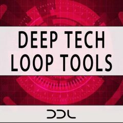Deep Tech Loop Tools <br><br>– 300 Wav Loops (150 Harmonics, 150 Rhythmics), 500 MB, 24 Bit Wavs.