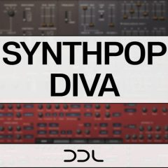 Synthpop Diva <br><br>– 102 Presets for U-He DIVA
