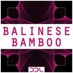 Balinese Bamboo <br><br>– 67 One Shots, 1 Ableton Live Suite Instrument Rack (8 Macro Knobs), 235 Wav Loops (194 Original Instrument Loops (Straight, Triplet, Muted), 41 Processed Loops (Ambience, Percussive, Vocoder), 232 MB, 24 Bit Wavs.