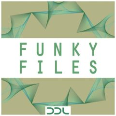 Funky Files <br><br>– 10 Themes (Bass, Guitar, E-Piano & Synth, Wav+MIDI), 20 Full Beats, 111 Files, 217 MB, 24 Bit Wavs.
