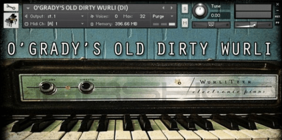 O'GRADY'S OLD DIRTY WURLI – Deep Data Loops
