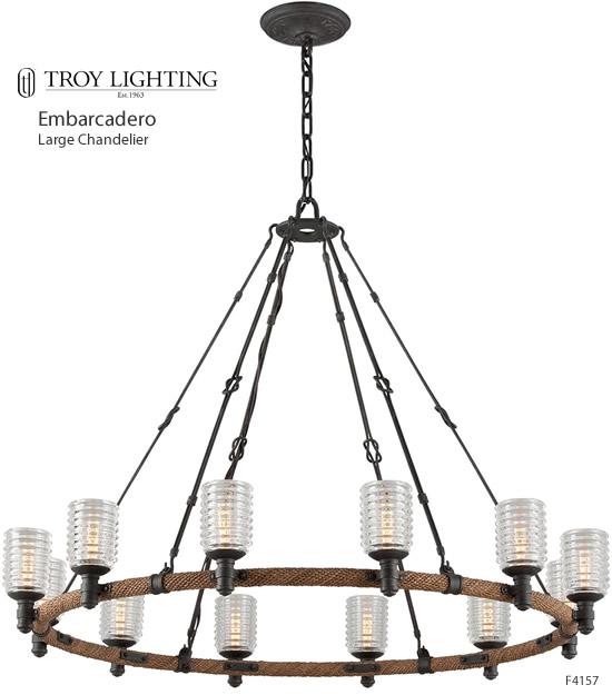large rustic chandeliers deep