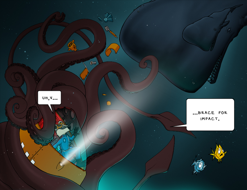 Hold Fast Leviathan! – Page 16 and 17