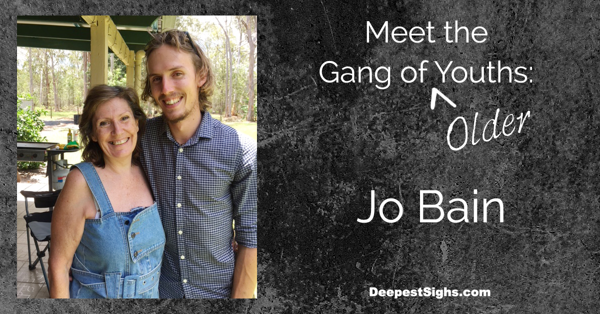 Meet the Gang of Older Youths: Jo Bain