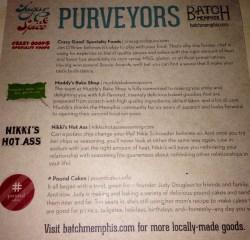 Batch Memphis: Purveyors