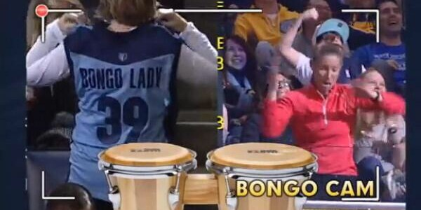 Memphis Grizzlies: Bongo Lady