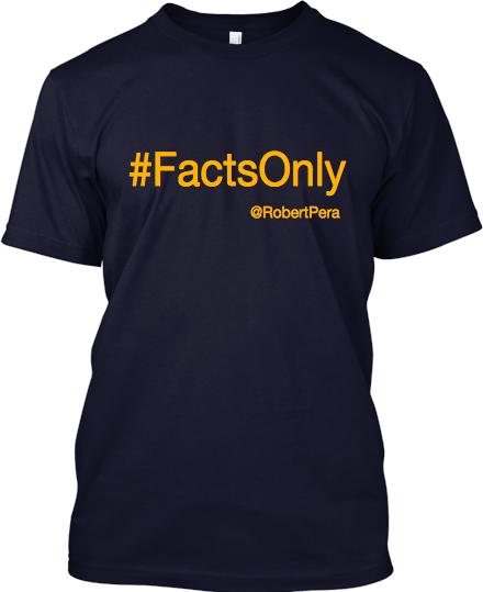 Memphis Grizzlies: #FactsOnly Shirt (Front)