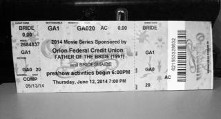 Orpheum: Ticket