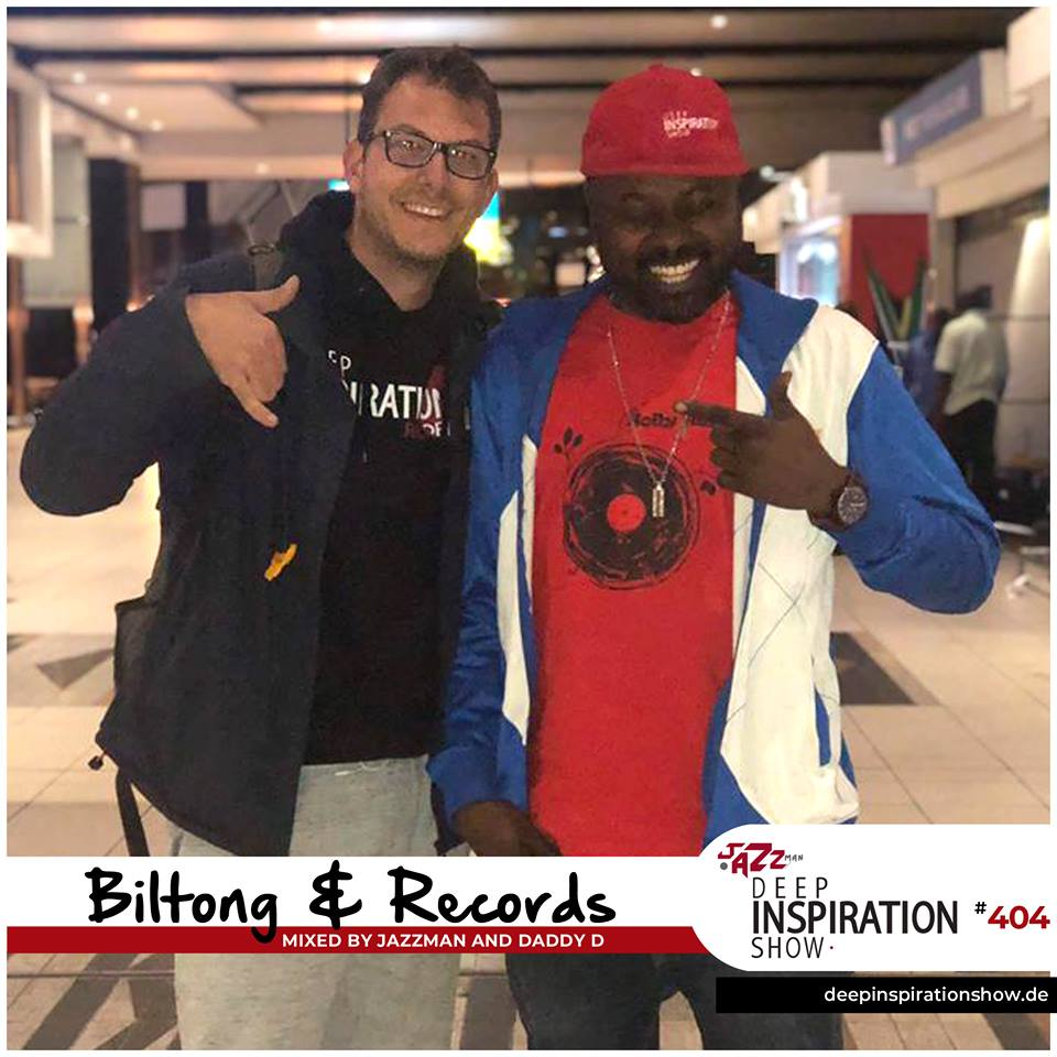 """Show 404 """"Biltong & Records"""" by Jazzman & Daddy D"""