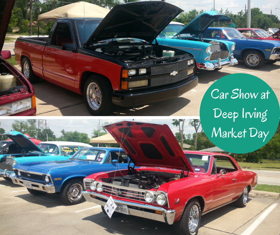 Car Show at Deep Irving Market Day