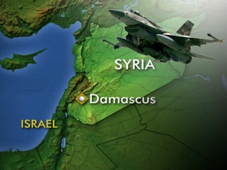 Syrië Damascus kaartje [jpg]