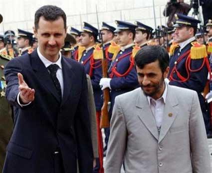 Iran Assad Ahmadinejad [jpg]
