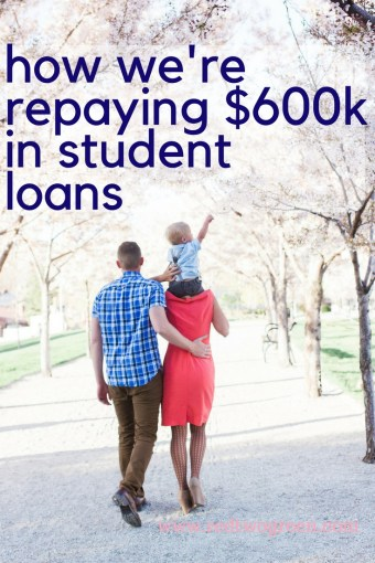 how we' are paying off our student loans