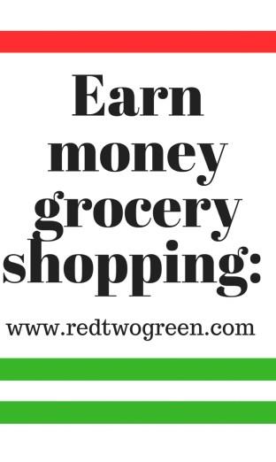 earn money grocery shopping