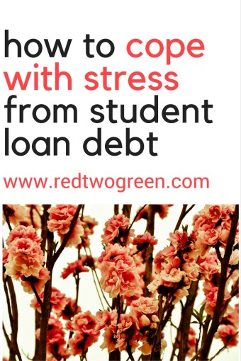 stress from student loan debt