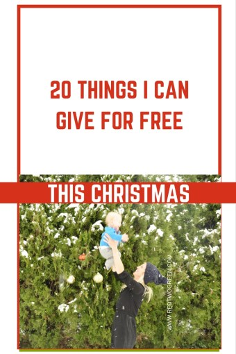 free things you can give this christmas