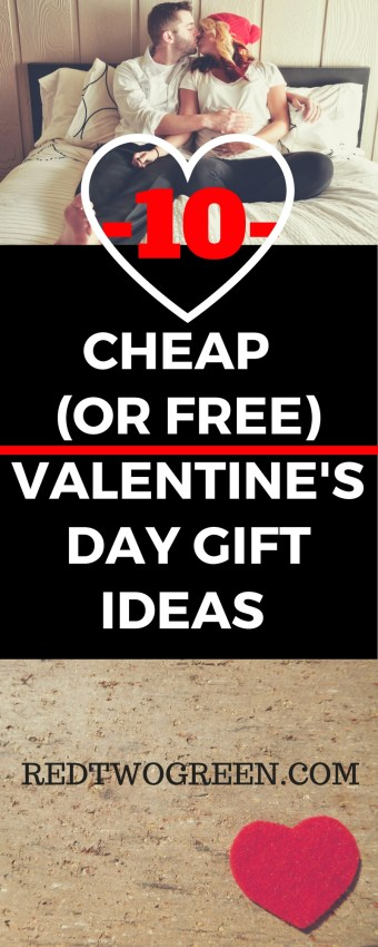 cheap or free valentine's day gift ideas