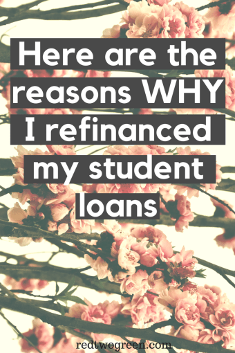 reasons why you should refinance your student loans