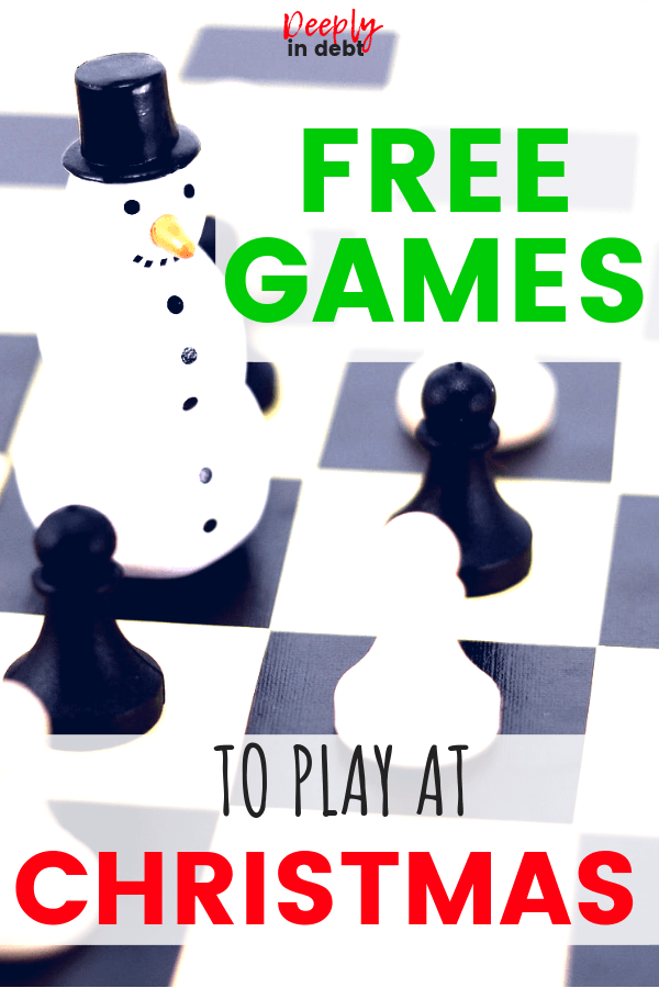 free games to play at Christmas