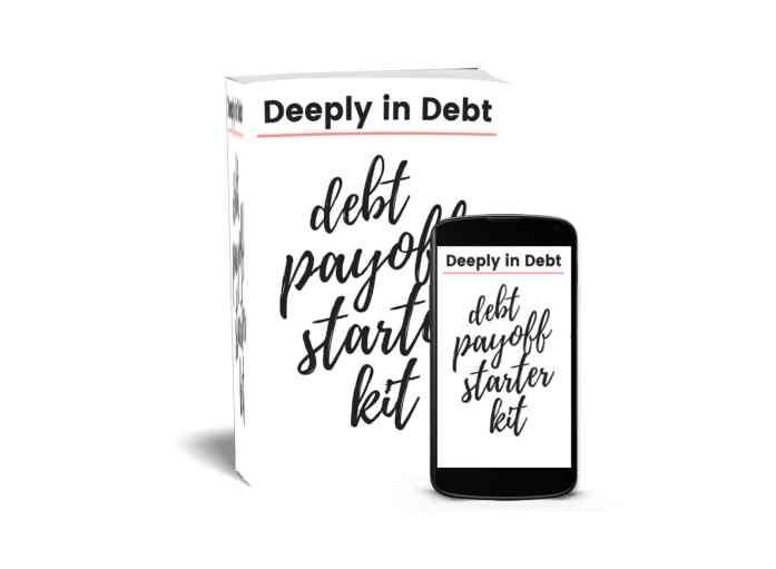 debt payoff starter kit