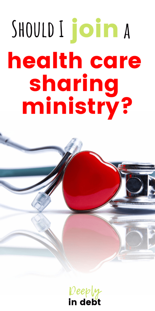 join a health care sharing ministry