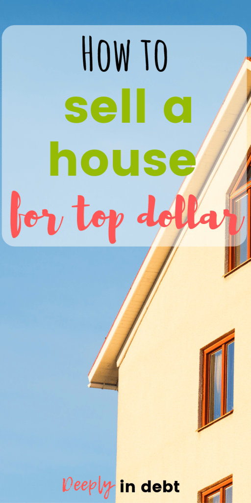 sell a house for top dollar