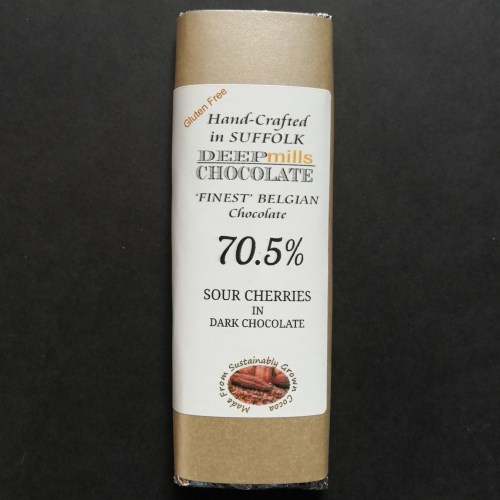 Sour Cherries in Dark Chocolate 70.5%