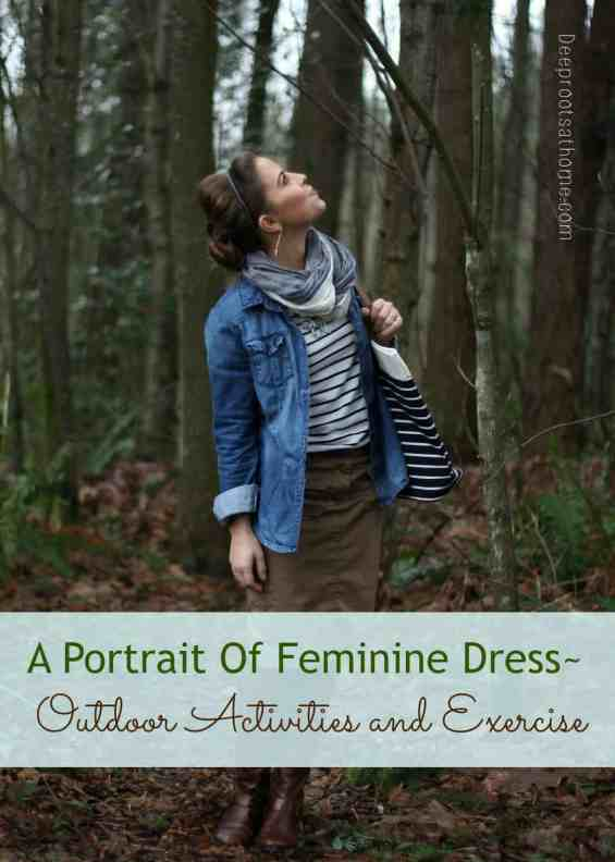 A Portrait Of Feminine Dress, Part 3 ~ Outdoor Activities and Exercise, Susan Dashwood, Verity Hope dress, Kitty pinafore, horse riding in skirts, exercise outfits, modest, feminine, sundress, beach wear, pantaloons, Christian women, Elizabeth Elliot, quote, mother and daughter, homestead, swimwear, homemade, homemaking, keeper at home, bicycle for two, culottes, horse riding in skirts, simpler time, athletic wear, exercise wear, active wear, Aspiring Homemaker, Marie-Madeline Studio, Hydro Chic swimwear, pretty, beautiful,