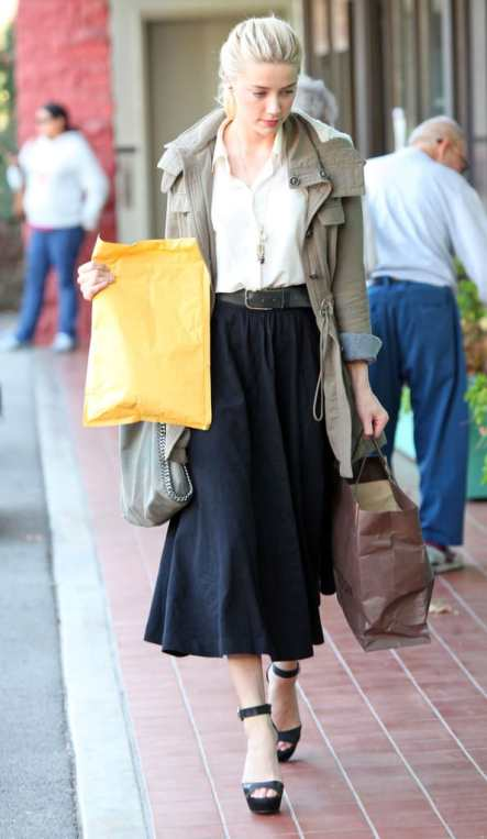 A Portrait Of  Feminine Dress, Part 4~ Running Errands, Trader Joe's, daughters, home-schooling, Christians, grocery shopping, window shopping, clothing, witness, long skirts, embroidery, back to school, cardigan, shirt dress, DIY, sewing, style, fashion, tucking, bow, blouse, knit hat, midi skirt, maxi skirt, femininity, modesty, wearing skirts, women's issues, Christian women, shopping, running errands, being lady-like, ambassador for Christ, Clothed Much, scarves change an outfit, Modest Mom blog, woolen shawls, wraps, mix 'n match, consignment shops, thrifting, respect, Amber Heard, Los Angeles