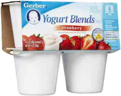 Which Is Worse: Sugar Or Aspartame?, Gerber Baby Yogurt blends, ingredients, aspartame