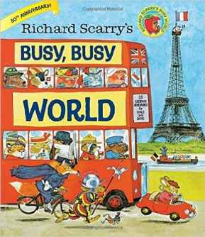 Richard Scarry: Scariest Children's Books Ever, scariest books, Christmas, Best Word Book Ever, the best, delightful, innocent, treasure, young children, book, out of print, illustrated, artist, author, pouring over books, colorful, details, concepts, early childhood, words, Busytown, Huckle Cat, Lowly Worm, Mr. Frumble, police Sergeant Murphy, Mr. Fixit, Bananas Gorilla, Hilda Hippo, grandchildren, well-loved, memory box, TV, videos, entertain, educate, learn to read, Cars and Trucks and Things That Go, parents, vocabulary, toddler, library, characters, fledgling talker, investment, nostalgia, Amazon review, Officer Flossie, fun, imagination, words, collection, printing, pages, book binding, used copy, hardback, politically correct, hardback, paperback, colors, shapes, sizes, good manners, counting, the alphabet, months of the year, scenes, water craft, market, cut-away house, trucks, cars, boats, airplanes, ships, helicopters, seasonal drawings, machinery, farm, early reading list, Hop Aboard! Here We Go!, engines, motors, What Do People Do All Day?, lucky chance, abridged, copy, 50th anniversary release, full length, stories, families, read aloud, Busy, Busy World, favorite book, collector's prices, publisher, hometown, professions, careers, bankers, doctors, sanitation workers, clerks, policemen, pilots, various vendors, lumber workers, birthday present, family heirloom