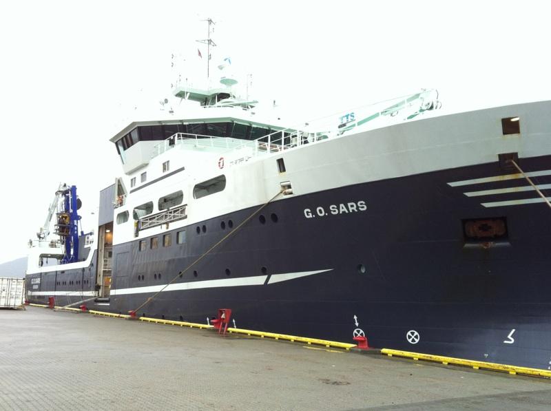 First deep-sea SponGES cruise – Arctic mid-ocean Ridge