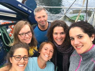 SponGES researchers ready to go sampling deep-sea North Atlantic Porifera