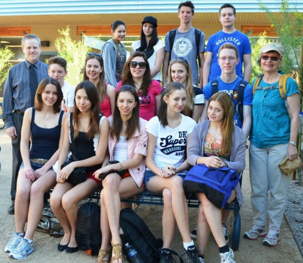 German exchange students sample Arizona culture | De Equitibus