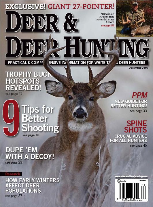 December 2009 Issue - Deer & Deer Hunting | Whitetail Deer ...